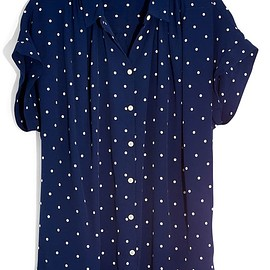 Madewell - Polka Dot Central Shirt