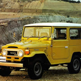 TOYOTA - LAND CRUISER BJ40V