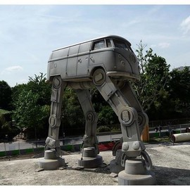 Volkswagen Star Wars Bus