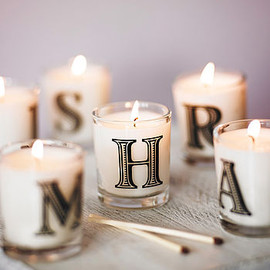 THE COUNTRY CANDLE COMPANY - Alphabet Scented Candle