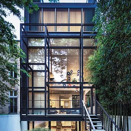 Paul Rudolph - Townhouse in lower Manhattan revamped by architect Steven Harris