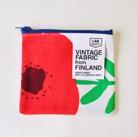 VINTAGE FABRIC from FINLAND - VINTAGE FABRIC from FINLAND/ポーチ