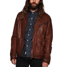 lee - 101 leather jacket LEE 101 LEATHER JACKET | THE THREE THREADS 50% SALE