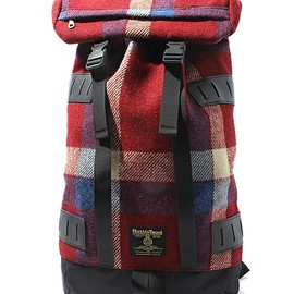 ciaopanic - HARRIS TWEED×Ciaopanic BACKPACK Red