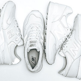new balance - WHITE INSTINCT COLLECTION ML999/CM620/M1400