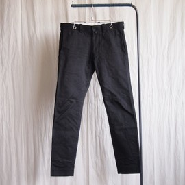 YAECA - Chino Cloth Pants - Narrow #black