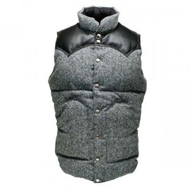 Rocky Mountain Featherbed - DOWN VEST / TWEED / GREY