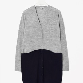 COS - Block colour cardigan