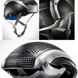 Paul Loury - BEETLE CYCLE (folding bicycle helmet)