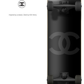 kirk henry - Chanel Skateboard Deck Design