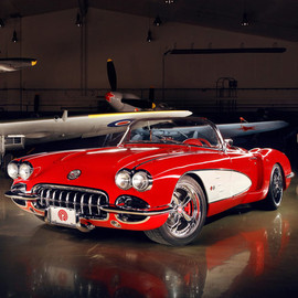 GM - 1959 CHEVROLET CORVETTE CUSTOM by POGEA RACING