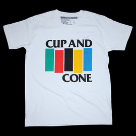 cup and cone - Arc-en-flag Tee (White)
