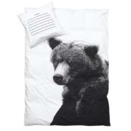 Danish label by nord - Kids Duvet Cover Bear