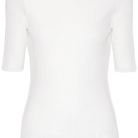 3.1 Phillip Lim - Cutout ribbed wool-blend top