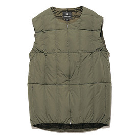 snow peak - Conceal Down Vest