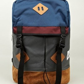 BROOKLYN WE GO HARD - BROOKLYN WE GO HARD x Drifter Rack Canvas Backpack