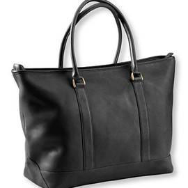 L.L.Bean - Town and Field Tote, Leather (Black)