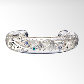 STAR JEWELRY - CLEAR ASTRONOMY BANGLE: ブレスレット