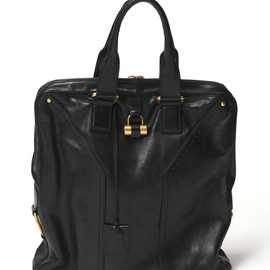Yves Saint Laurent - Leather Tote Bag