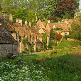 in England - the most beautiful village
