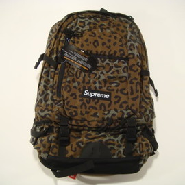 Supreme - Backpack Camo Leopard