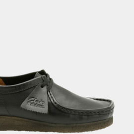 Clarks - Wallabee BLACK LEATHER