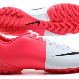 NIKE - Mercurial Victory III TF Euro 2012 Football Trainers White/Black/Solar Red