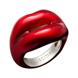Solange Azagury-Partridge - (Red) Hotlips ring