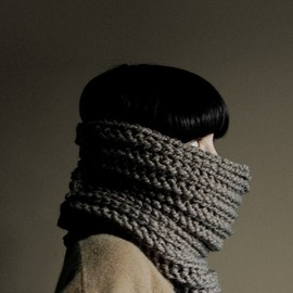 Yokoo - Neck Warmer in taupe