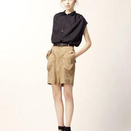 evaloren - skirt&blouse