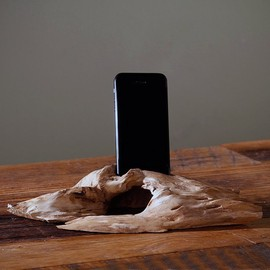none - Driftwood Phone Stand