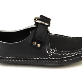 ARROW MOCCASIN - Ring Blucher Moccasin-5WR / Black