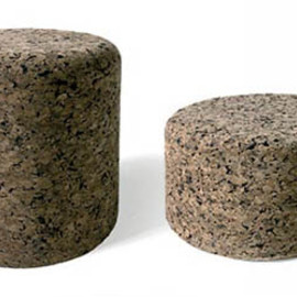 Moooi by Jasper Morrison - Cork Stool and Low table