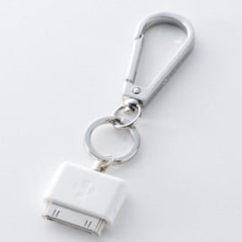 Simplism - DockCarabiner for iPod/iPhone White