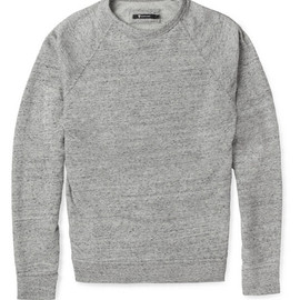 Alexander Wang - Loopback Cotton-Blend Jersey Sweatshirt