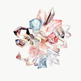 Lara Meyerratken - Rose / Celestite / Quartz