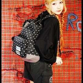 Candy stripper - OUTDOOR×CANDY RUCKSACK