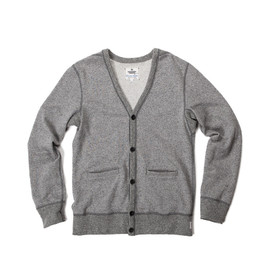 Reigning Champ - REIGNING CHAMP X STEVEN ALAN CARDIGAN - HEATHER GREY