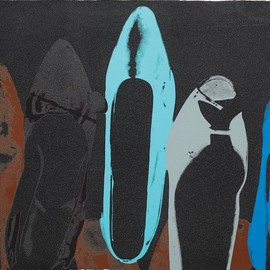 Andy Warhol - Shoes II.257, 1980, silk screen print