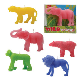Decor Craft Inc. - Wild Animal Candles
