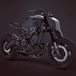 "Dab Motors - ""Alter Carbon"" Yamaha xsr900"
