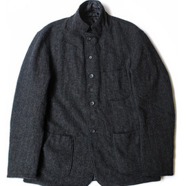 Engineered Garments - Charcoal Brookline Quilted Jacket