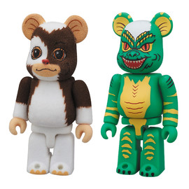 MEDICOM TOY - BE@RBRICK GIZMO & STRIPE 2PACK