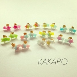 KAKAPO - Mini shooting star BU × P pierce (NO.998)