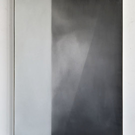 Derek Root - Airborne Particles, 2012, oil, wax on canvas and wood