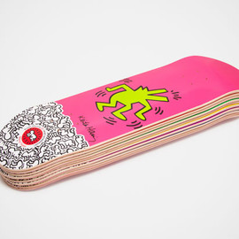 Keith Haring x Alien Workshop - Skateboard Collection