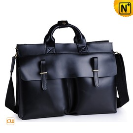 cwmalls - Mens Leather Briefcase Business Totes CW914132