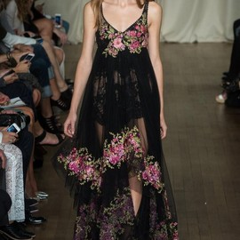 marchesa - Spring 2015 Ready-to-Wear Marchesa Model Agne Konciute (Next)