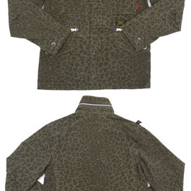 WTAPS - WTAPSM-65ジャケット[M-65JACKET.COTTON.RIPSTOP]LEOPARD230-000721-039-【新品】【smtb-TD】【yokohama】