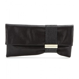 JIMMY CHOO - CHANDRA SUEDE CLUTCH